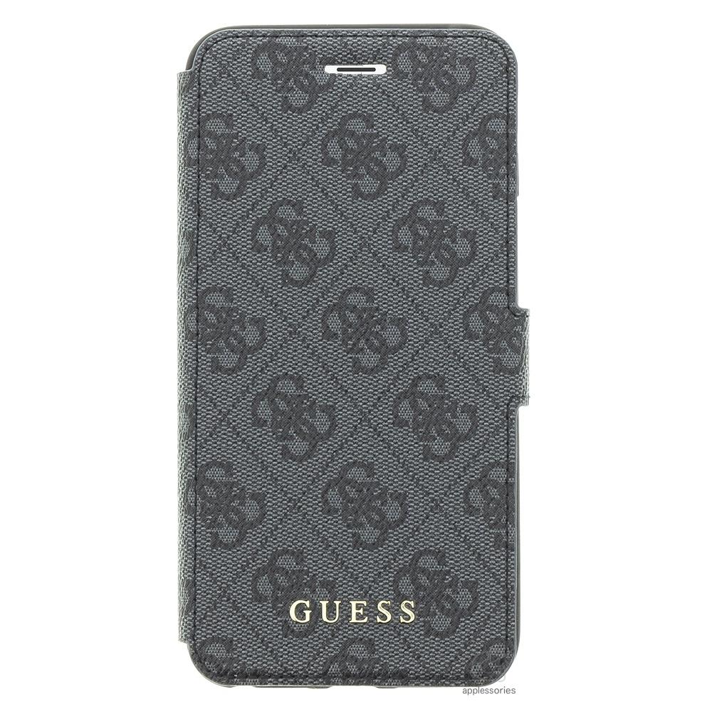 Guess Uptown pouzdro pro iPhone 8 Plus / 7 Plus - šedé
