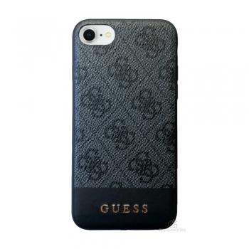 Guess 4G Stripe kryt pro iPhone SE / 8 / 7 - šedý