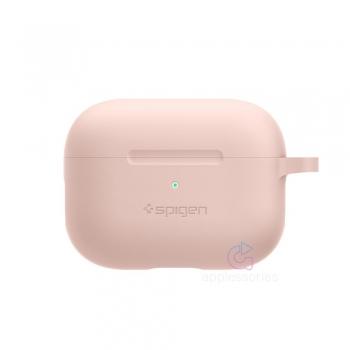 Spigen silikonové pouzdro pro AirPods Pro - růžové