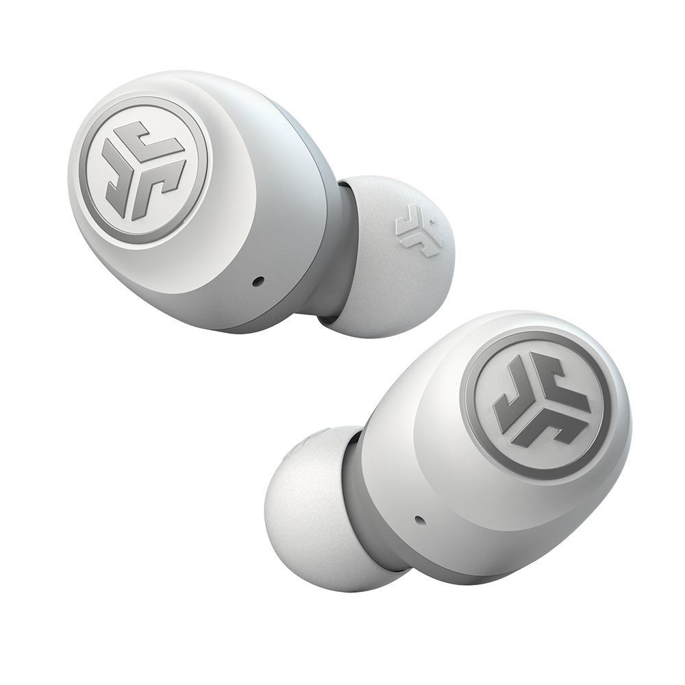 JLab Go Air bezdrátová sluchátka - bílá