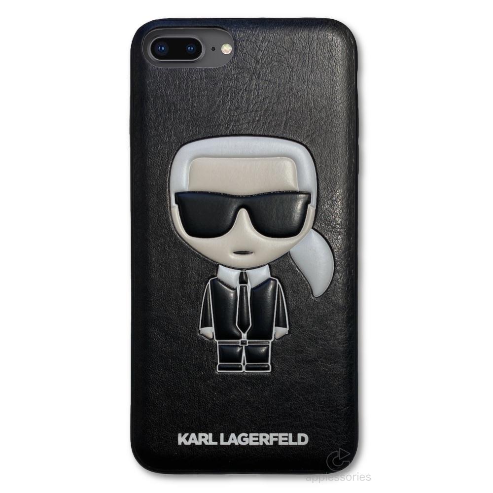 Karl Lagerfeld Ikonik kryt pro iPhone 8 Plus / 7 Plus
