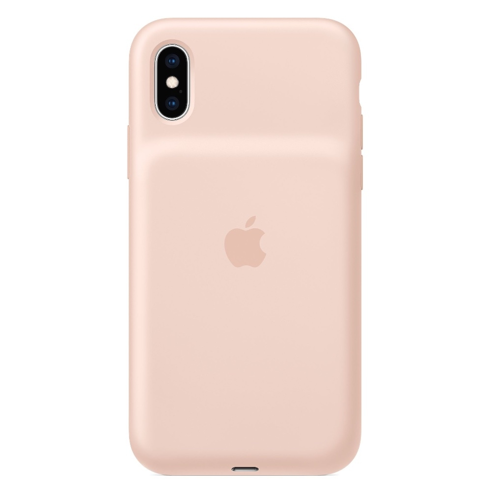 Apple Smart Battery Kryt pro iPhone Xs Pink Sand