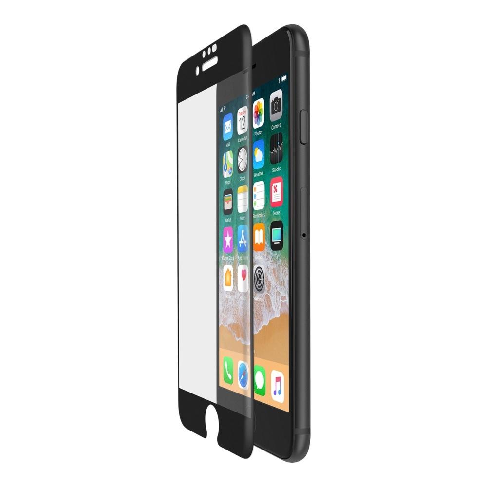 Belkin ScreenForce TemperedCurve ochranné sklo pro iPhone 8 / 7 / 6s - černé