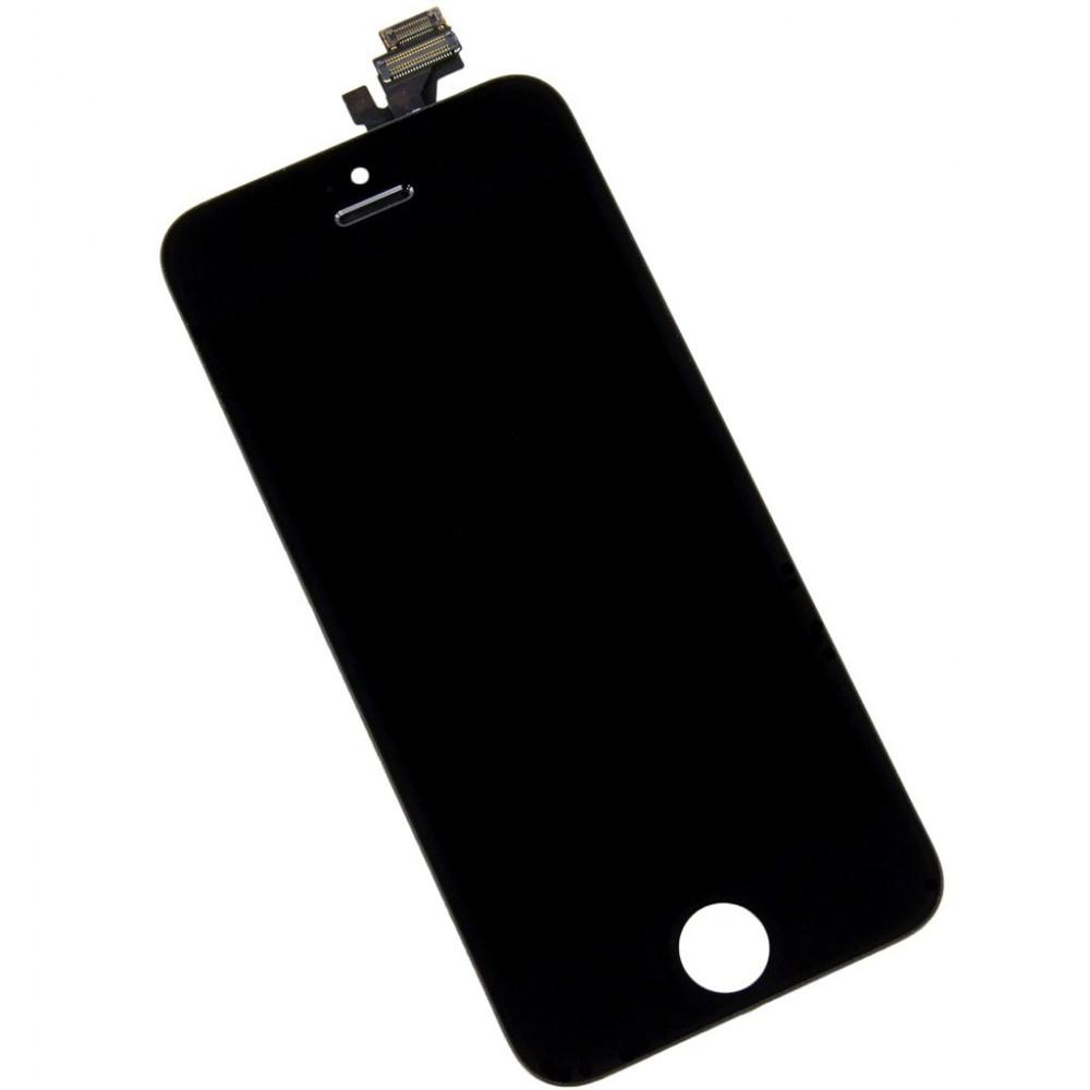 LCD panel s dotykovým sklem pro iPhone 5, Barva Černá