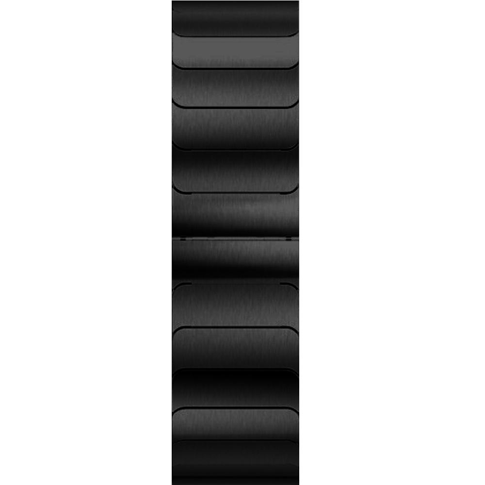 CoteEtCi ocelový řemínek pro Apple Watch (42-44mm) - černý
