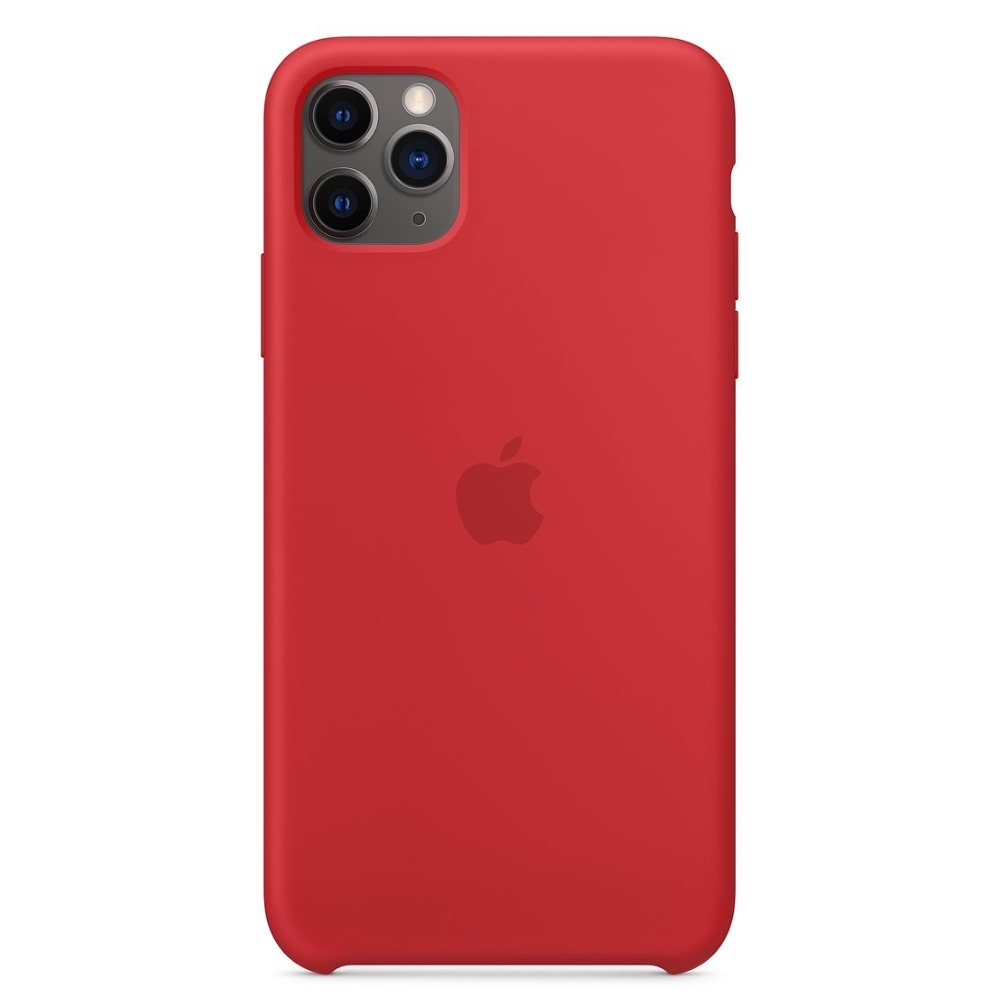 Apple silikonový kryt pro iPhone 11 Pro Max - červené