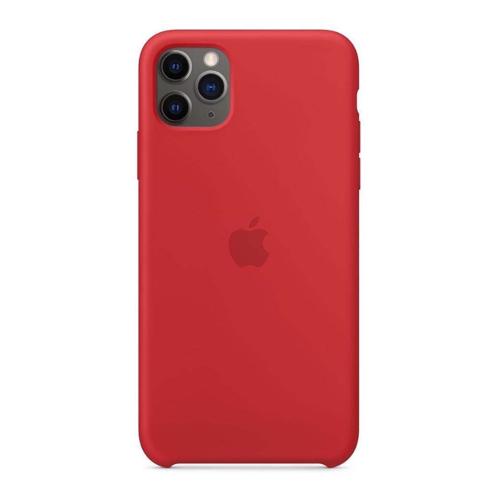 Apple silikonový kryt pro iPhone 11 Pro - červený