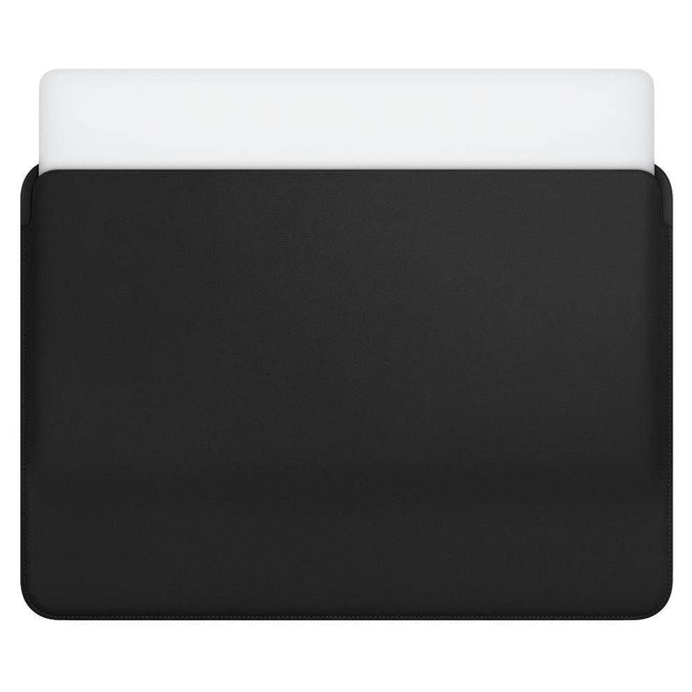 "Coteetci tenké koženkové pouzdro pro MacBook 15"" - černé"