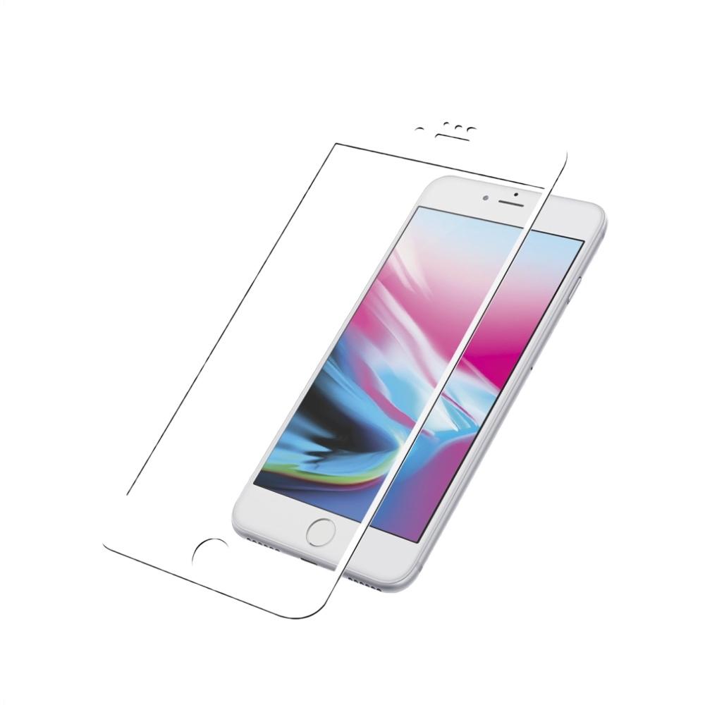 PanzerGlass Case Friendly tvrzené sklo pro iPhone 8 / 7 / 6 - bílé