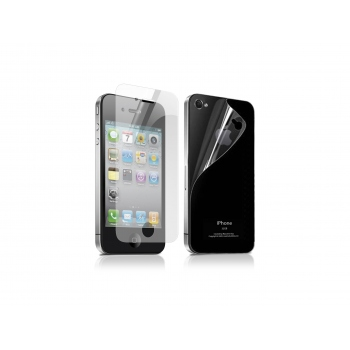 Front/back protective shield for iPhone 4/4S