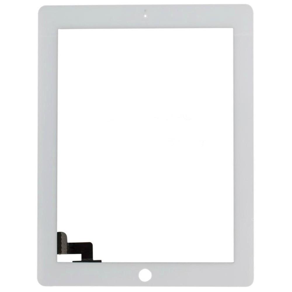 Dotykové sklo - digitizer pro iPad 2, Barva Bílá