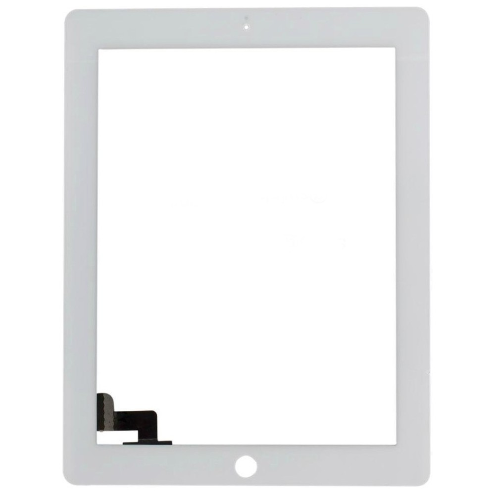 Dotykové sklo s digitizerem pro iPad 2, Barva Bílá