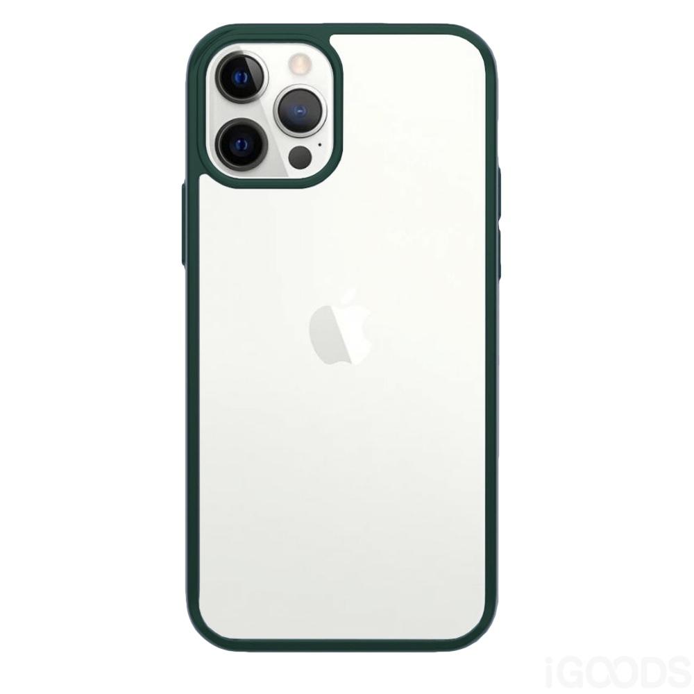 PanzerGlass ClearCase Racing Green kryt pro iPhone 12 / Pro