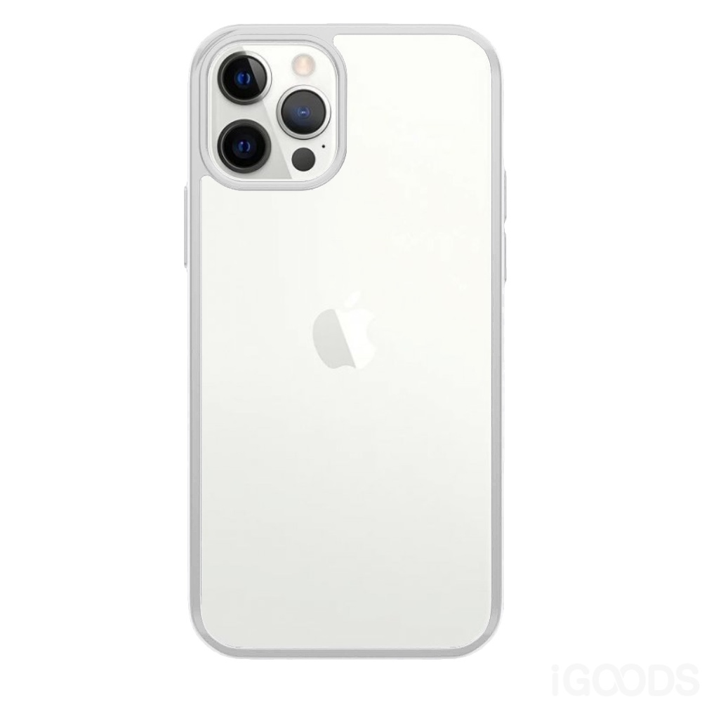 PanzerGlass ClearCaseColor Satin Silver kryt pro iPhone 12 / Pro