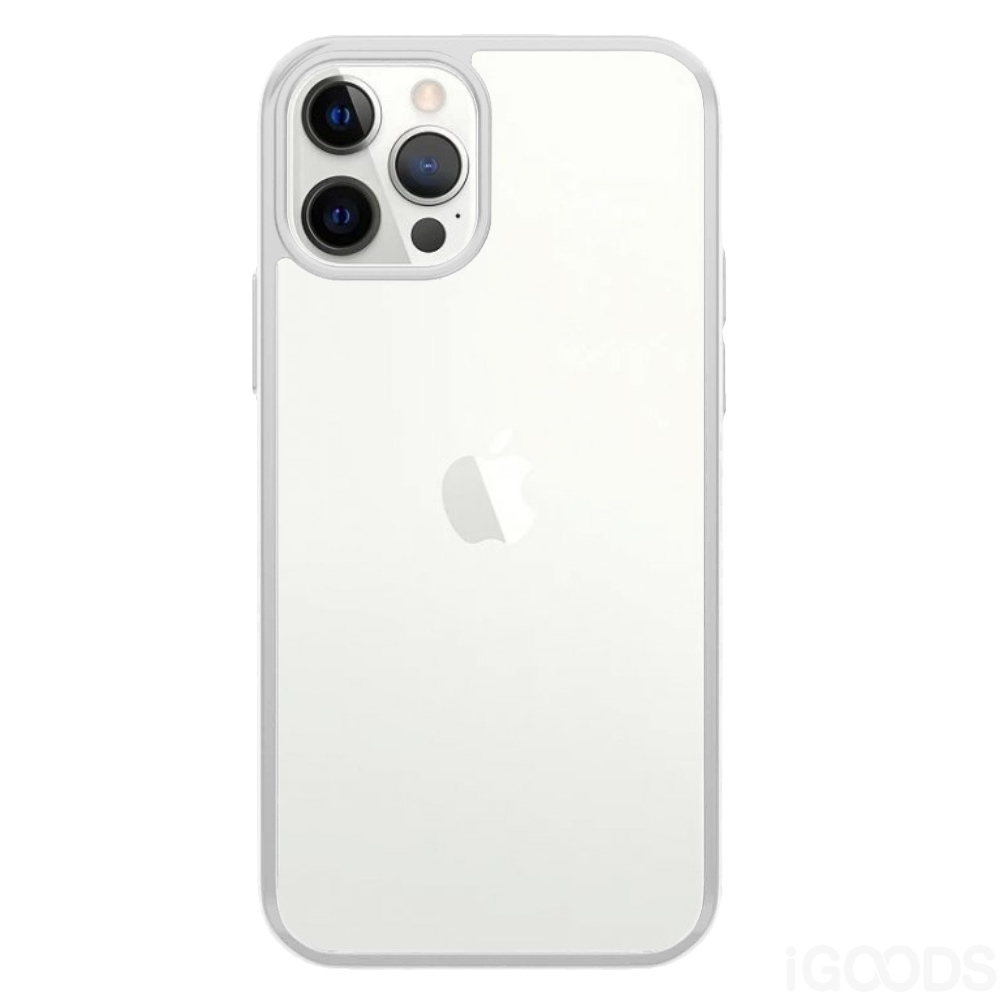 PanzerGlass ClearCaseColor Satin Silver kryt pro iPhone 12 Pro Max