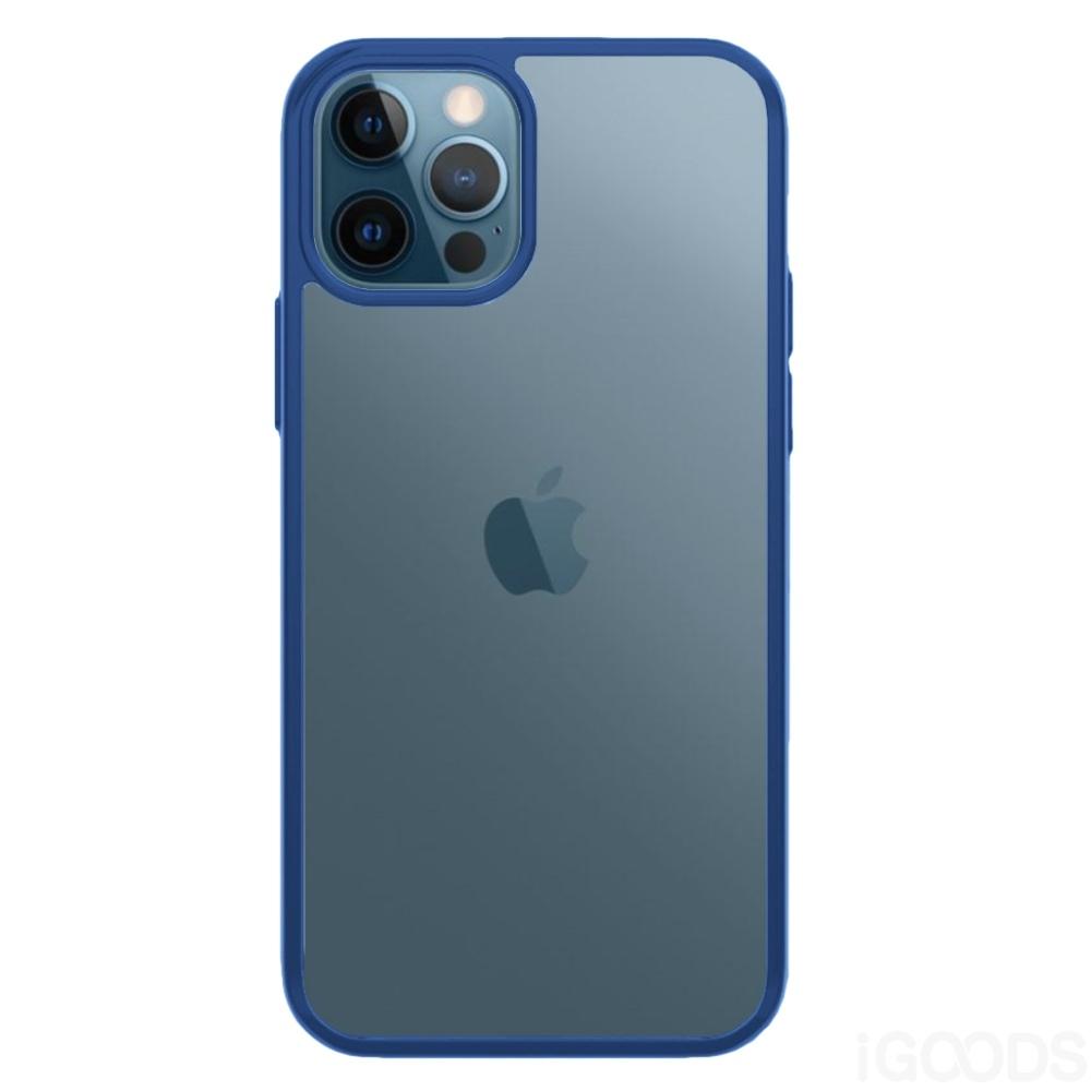 PanzerGlass ClearCaseColor True Blue kryt pro iPhone 12 Pro Max