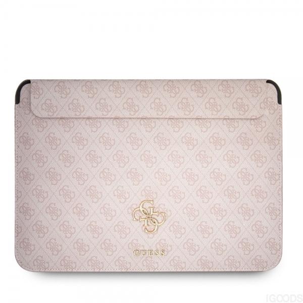 "Guess 4G Metal Logo Sleeve pouzdro pro MacBook 13"" růžové"
