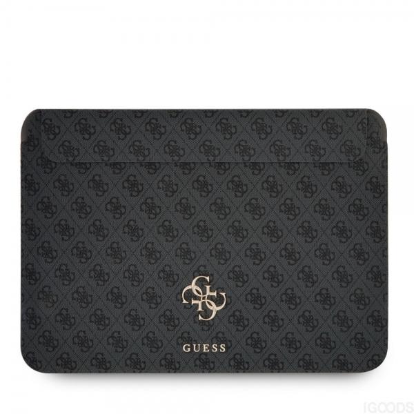"""Guess 4G Metal Logo Sleeve pouzdro pro MacBook 13"""" šedé"""