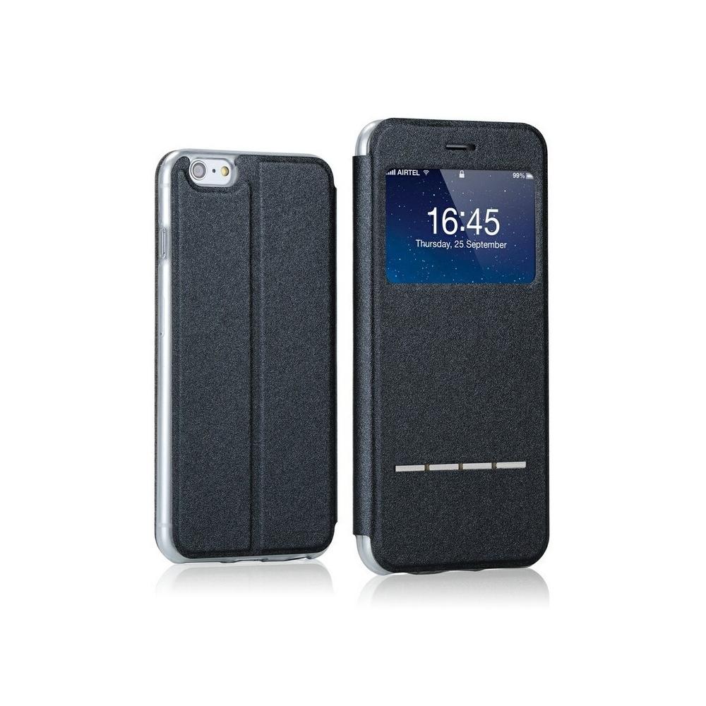 Zavírací SmartCase pouzdro na iPhone 6/6S, Barva Černá