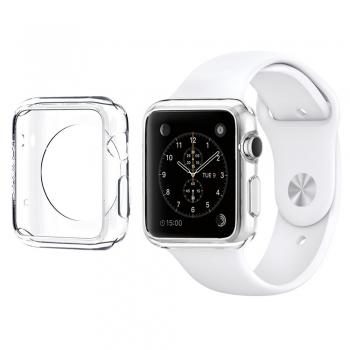 Silikonový průhledný kryt pro Apple Watch 38mm