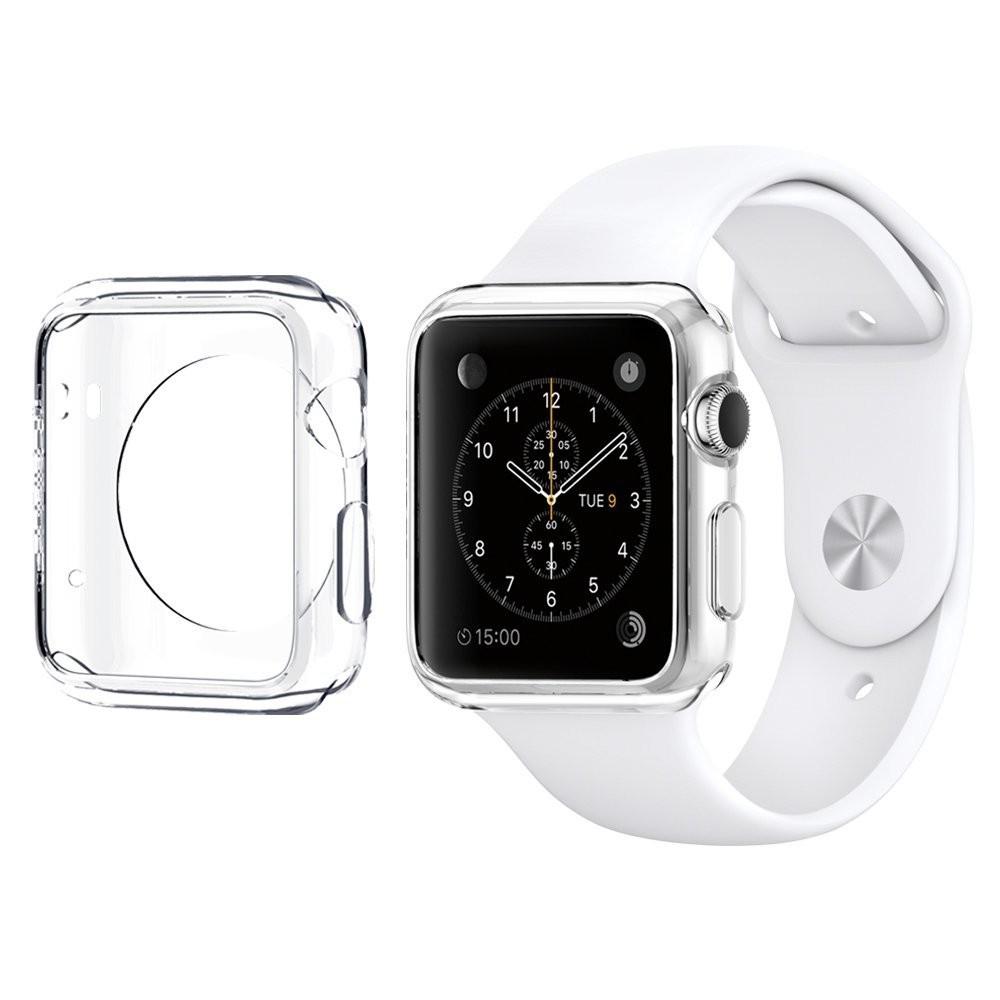 Silikonový průhledný kryt pro Apple Watch 38mm, Barva Průhledná