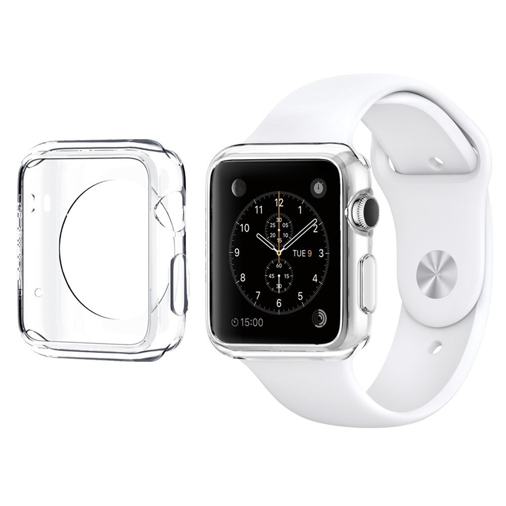 Průhledný kryt na Apple Watch 42mm, Barva Průhledná