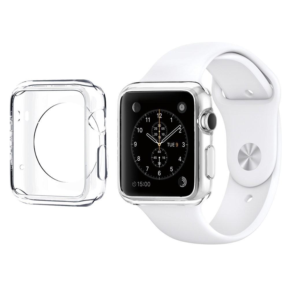 Silikonový průhledný kryt pro Apple Watch 42mm, Barva Průhledná