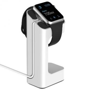 Držák NightStand pro Apple Watch - bílý