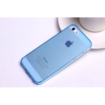Jelly Case Fitty pouzdro pro iPhone SE/5S/5 s krytkami konektorů