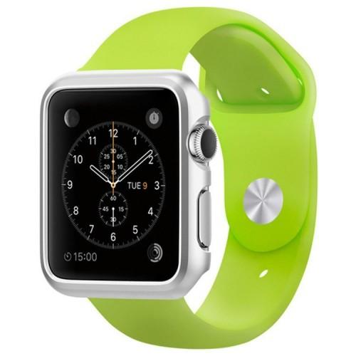 Fashion kryt na Apple Watch 38mm stříbrný