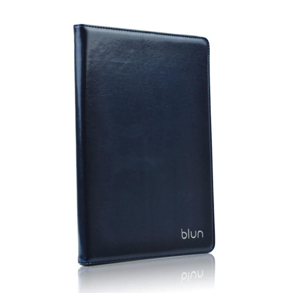 """Blun kožené univerzální pouzdro na tablet 8"""", Barva Modrá"""