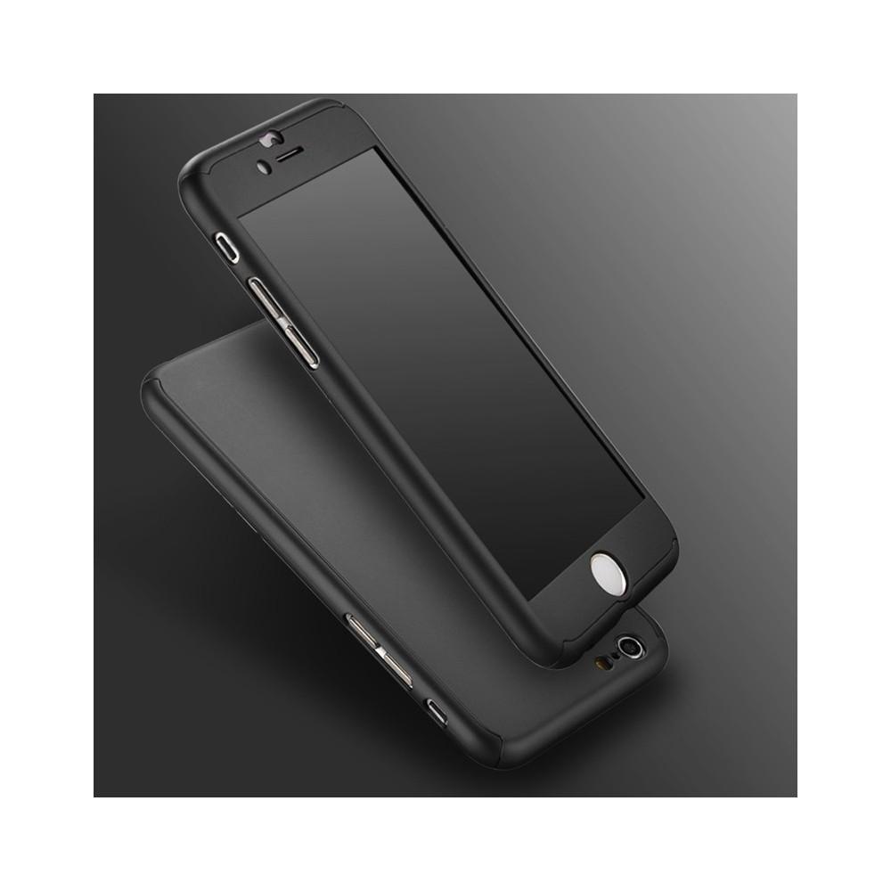Kryt na celý iPhone 6S - Soft Touch, Barva Černá