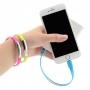 Nabíjecí silikonový náramek pro iPhone