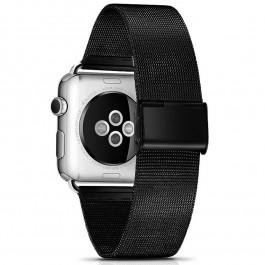Řemínek Milanese Classic pro Apple Watch 38mm- černý