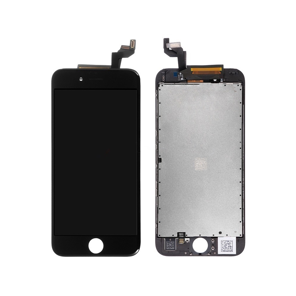 Kompletní LCD panel - displej pro iPhone 6S, Barva Černá