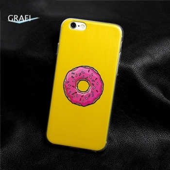 Kryt Silic Grafi na iPhone 5/5S DONUT