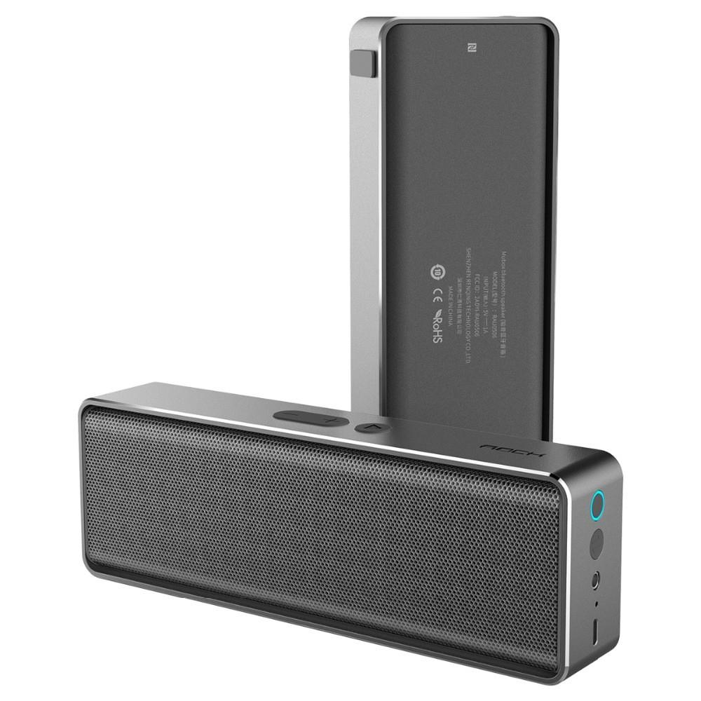 Rock MUBOX Bluetooth Speaker, Barva Šedá