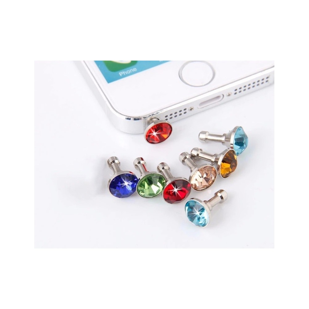 Protiprachová zástrčka Diamant pro iPhone, Barva Oranžová