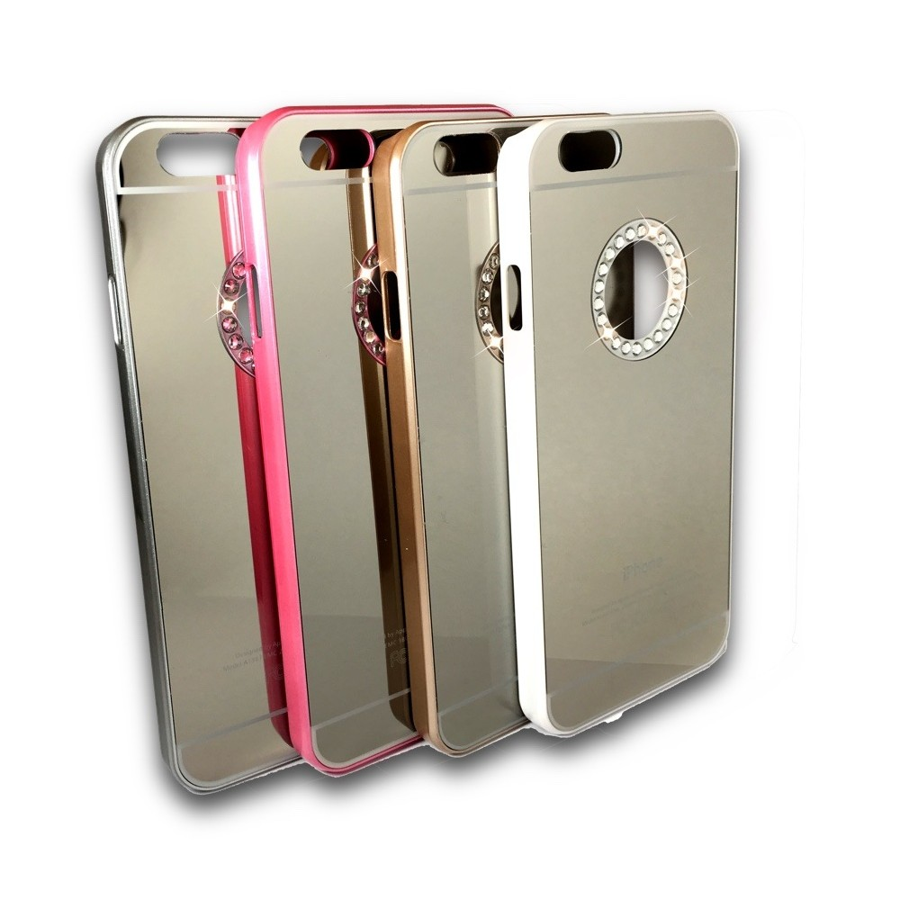 Kryt Blink Mirror pro iPhone 6/6S, Barva Champagne Gold