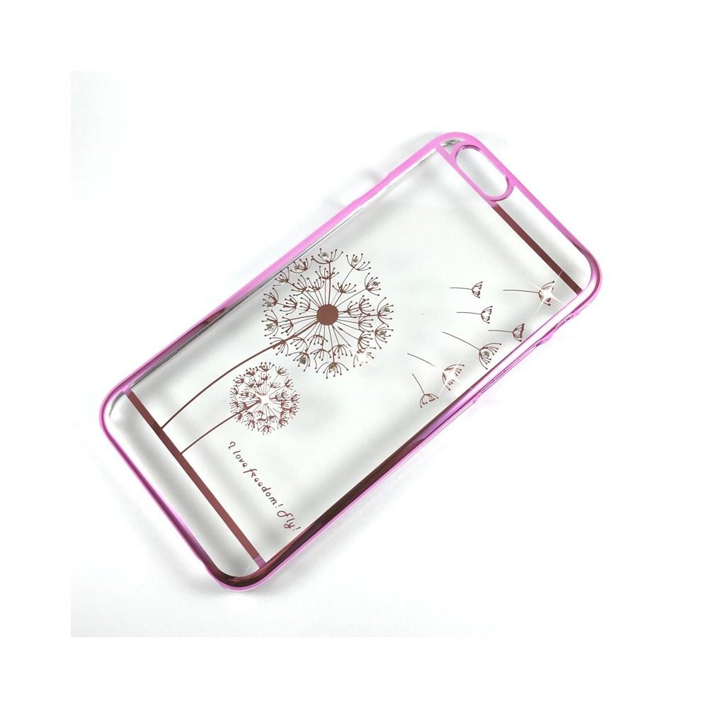 Clip:ON Blink Shield Dandelion pouzdro pro iPhone 6/6S, Divoká růžová