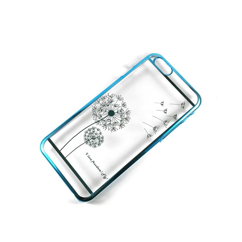 Blink Shield Dandelion kryt pro iPhone 6/6S Plus, Modrá