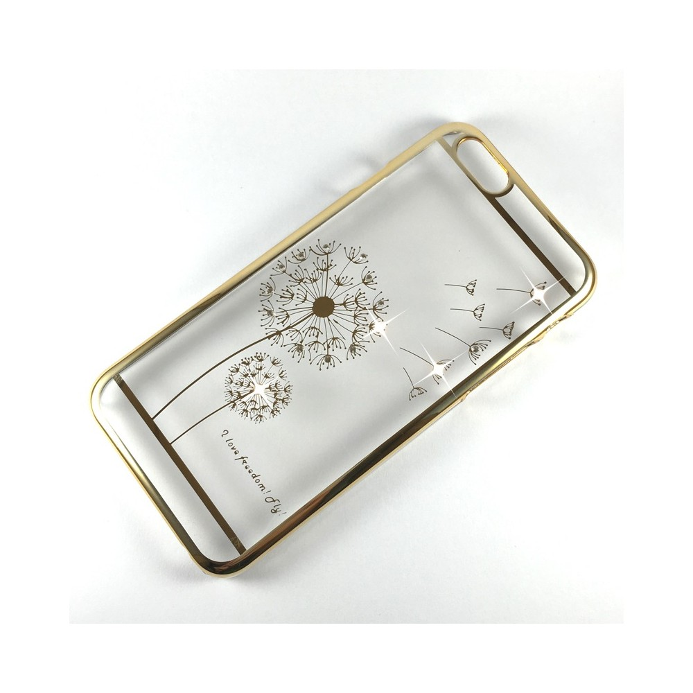 Kryt Blink Shield Dandelion pro iPhone 6/6S Plus, Barva Zlatá