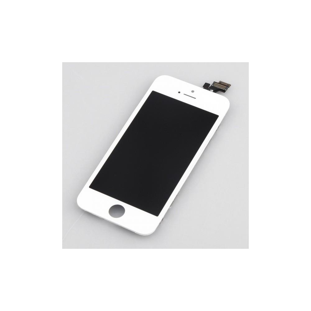 Kompletní LCD panel - displej pro Apple iPhone 5, Stav Nový, Barva Bílá