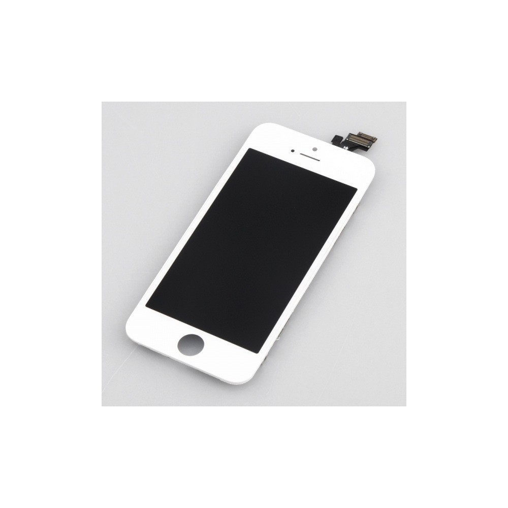 LCD panel s dotykovým sklem pro iPhone 5, Barva Bílá