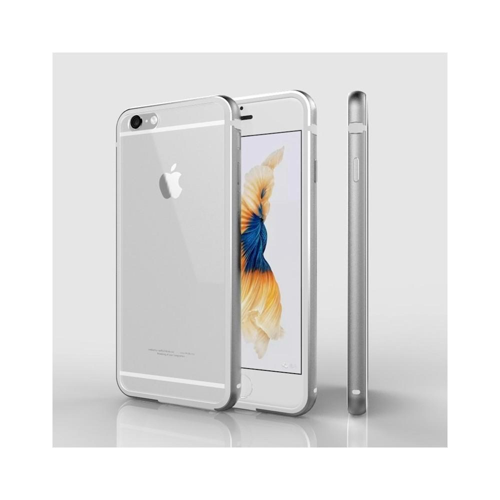 Kryt ALU HYBRID SHIELD pro iPhone 6/6S, Barva Stříbrná