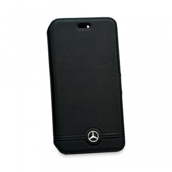 Kryt Mercedes-Benz Grill Book Black pro iPhone 6/6S