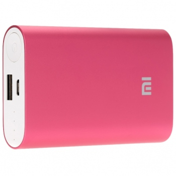 Power Bank Xiaomi 10400mAh červená