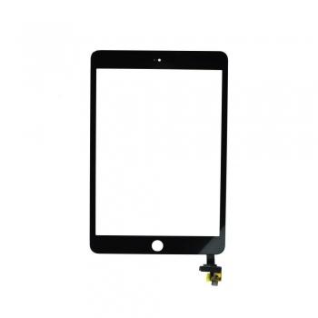 Dotykové sklo - digitizer pro iPad mini 3 černé