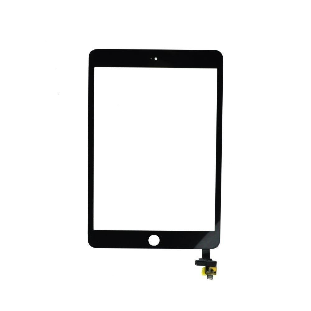 Dotykové sklo/digitizer pro iPad mini 3 s IC konektorem, Barva Černá
