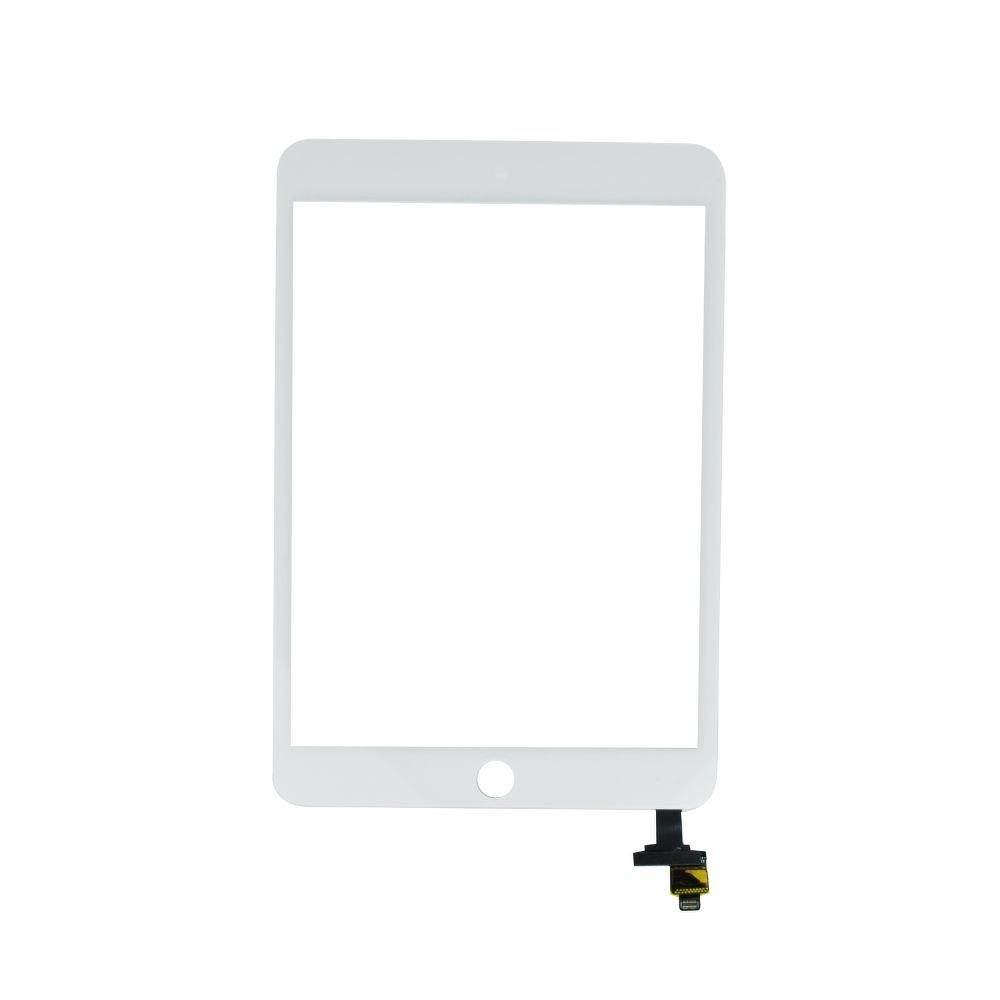 Dotykové sklo/digitizer pro iPad mini 3 s IC konektorem, Barva Bílá